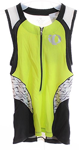 Pearl iZUMi Elite Tri SL Top Sleeveless XS Women's Bike Jersey Green/Black New