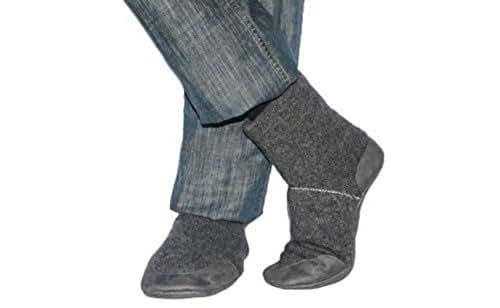 Amazon.com: Men and Women Slipper Socks, Men Cashmere
