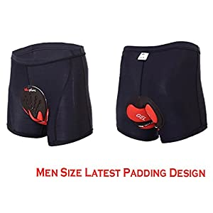 Xcellent Global Newest 3D Padded Men's Bicycle Cycling Underwear Shorts Underpants - FS014XL