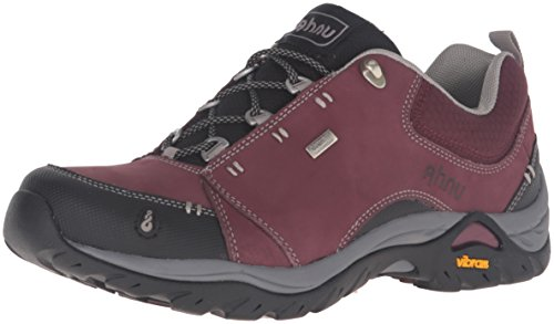 Image of Ahnu Women's Montara II Waterproof Hiking Shoe, Mission Fig, 6.5 M US