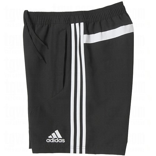Adidas Tiro13 Woven Coaches Shorts Schwarz / Weiß Erwachsene S