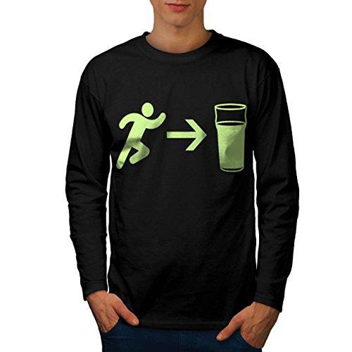 exit-beer-needs-me-men-new-l-long-sleeve-t-shirt-wellcoda