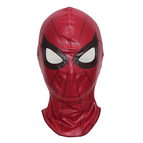 Spiderman Mask Homecoming Costume Cosplay Hood Adult