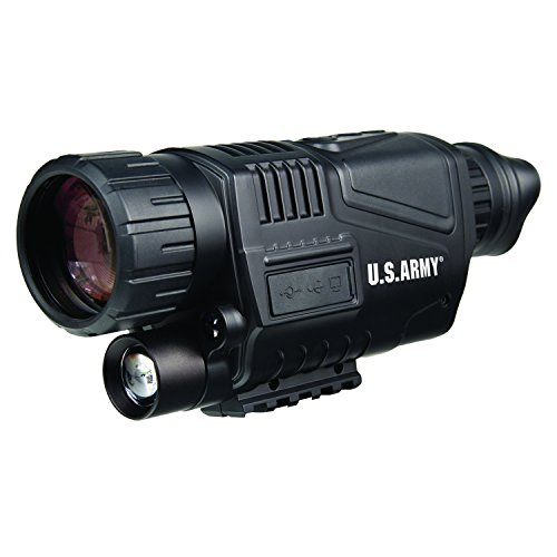 U.S. Army US-NVM405 Digital Night Vision Recording Monocular 5x40 (Black) by U.S. Army