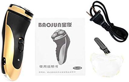 Pudincoco BAOJUN 9188 3 cuchillas Afeitadora eléctrica recargable ...