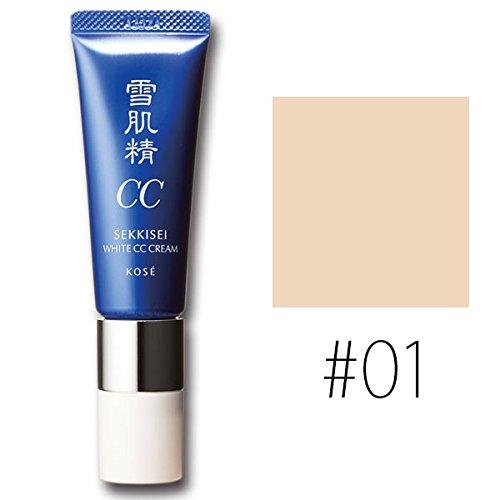 コーセー 雪肌精 ホワイト CCクリーム【#01】 #LIGHT OCHRE SPF50+/PA++++ 30g