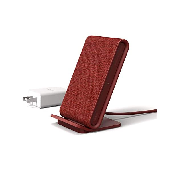 iOttie-iON-Wireless-Fast-Charging-Stand-Qi-Certified-Charger-75W-for-iPhone-XS-Max-R-8-Plus-10W-for-Samsung-S9-Note-9-Includes-USB-C-Cable-AC-Adapter-Ruby