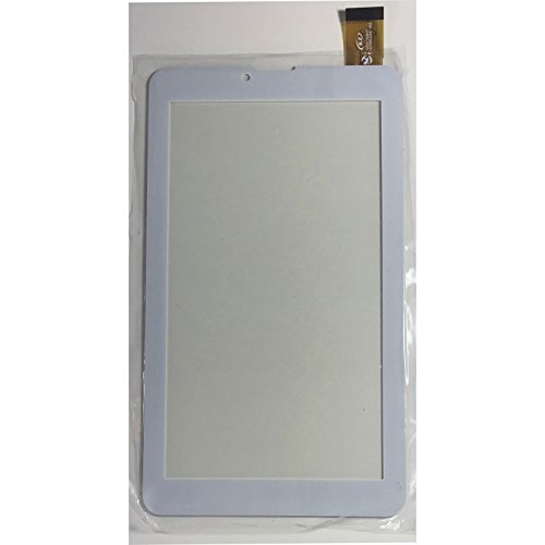 HOUSEPC Touch Screen per Majestic Tab-486 HD 3g Vetro Tablet Digitizer 7.0 Bianco