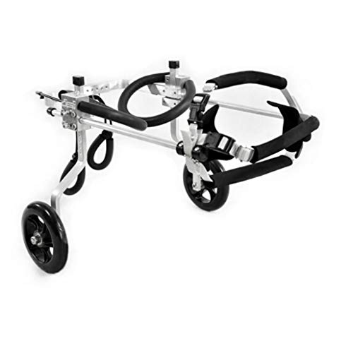 Wheelchair/Dog Scooter/hind Limb Disabled Wheelchair/Suitable for Large, Medium and Small Pets, cat and Dog Leg Rehabilitation Walking car