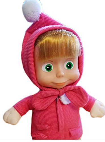 Masha Doll From Masha And The Bear; Size 11 Inch