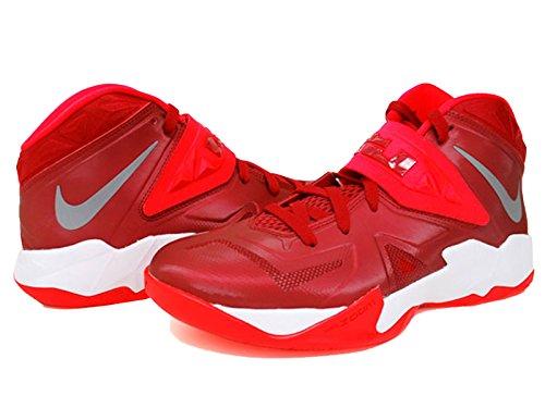 Men s Nike Zoom Soldier Vii Tb Gym Red Bright Crimson Metallic Silver 599263 -600 Size 18 - Buy Online in Oman.  0cf9710a2