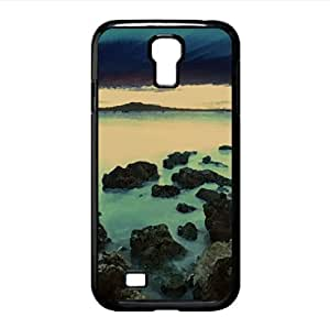 Water Long Exposure Watercolor style Cover Samsung Galaxy S4 I9500 Case (Beach Watercolor style Cover Samsung Galaxy S4 I9500 Case)