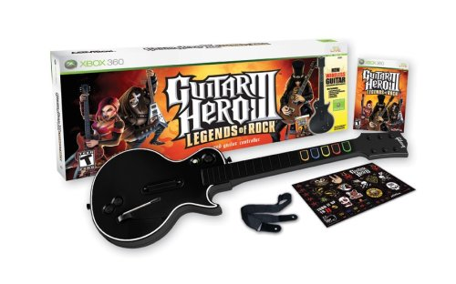 Guitar Hero III: Legends of Rock Wireless Bundle - Xbox 360