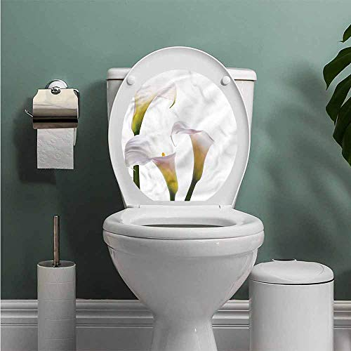 ThinkingPower Flower self-Adhesive Calla Lilies Romantic Resistant to Water W13XL13 INCH (Chair Calla)