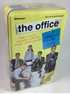 Amazon.com: The Office Trivia Game in Tin - The Sequel: Toys & Games