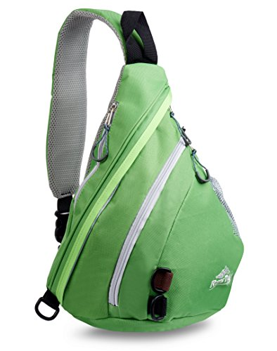 RiteTrak Sports Sling Backpack by Best Lightweight Multi-Use Pack for Travel Hiking Biking or Health, One Strap Shoulder or Crossbody Bag – Choose Your Color – DiZiSports Store