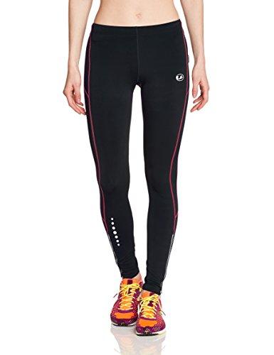 Ultrasport Damen Laufhose gefüttert mit Quick-Dry-Funktion lang, black dubarry, M, 380100000205