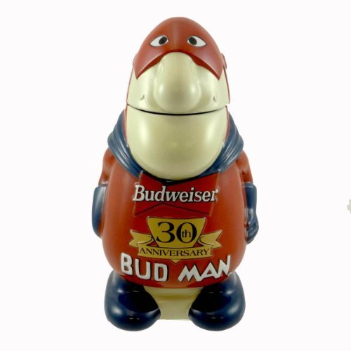 Anheuser-Busch BUD MAN 30TH ANNIVERSARY STEIN CS401 30Th Anniversary Budweiser New - Anheuser Busch Collectibles