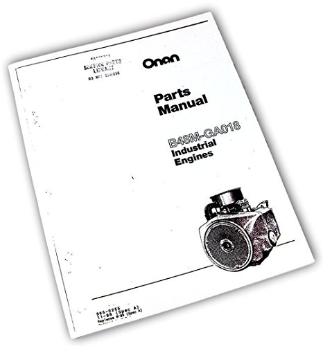 Industrial Engine Parts Manual - 2