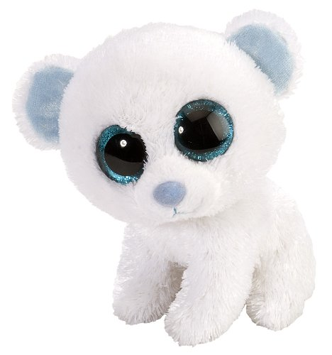 Wild Republic Polar Bear Plush, Stuffed Animal, Plush Toy, Gifts for Kids, Sweet and Sassy 5 Inches