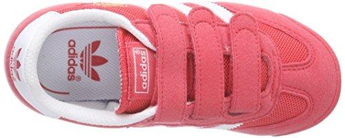 adidas Dragon CF C - Zapatillas para niño Rosa / Blanco