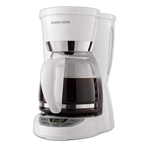 Amazon.com: BLACK+DECKER CM1050W Cafetera programable para ...