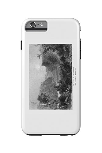 New York - View of the Niagara River Outlet, Lake Ontario in Distance (iPhone 6 Plus Cell Phone Case Cell Phone Case, - Niagara Outlet