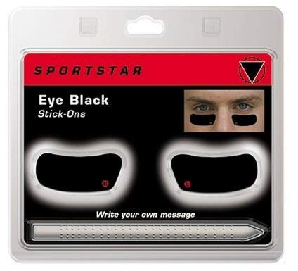 Amazon.com: Ojo negro stick-ons * * escribir su propio ...