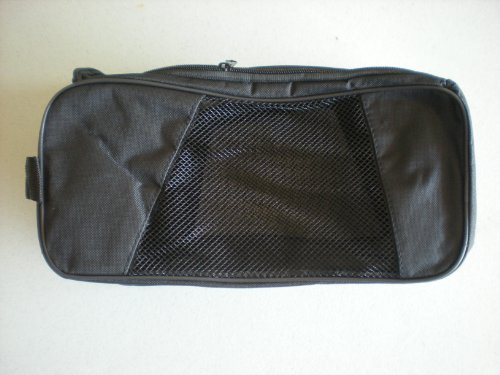Northwest Ventilated Golf Shoe Bag – Black, Outdoor Stuffs