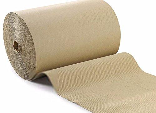 Cartó n Protecció n rollo 1 x 20 metros RUBBERFLAVBLUE Idrofugo absorbente ondulado Linea Profesional Salva suelos parquet Pavpro