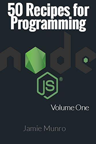 Amazon com: 50 Recipes for Programming Node js: Volume 1