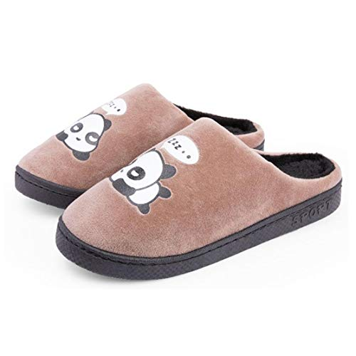 for Men for QZBAOSHU Slippers Coffee Women Slippers Panda zOZwR