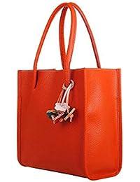 Women Bags, Ladies Leather Color Flowers Handbags Totes Satchel Crossbody Shoulder Bag Messenger Bags Package