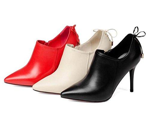 Hauts Stiletto Robe Escarpins De Soirée Escarpins Chaussures De Red De Soirée Bal Talons Pointu Stilettos Bout Femmes 8xFX5gq