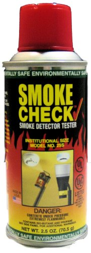 Home Safeguard 25S 2.5-Oz. Smoke Detector Tester Spray 12 Per Package by HSI Fire and Safety Group (Image #1)