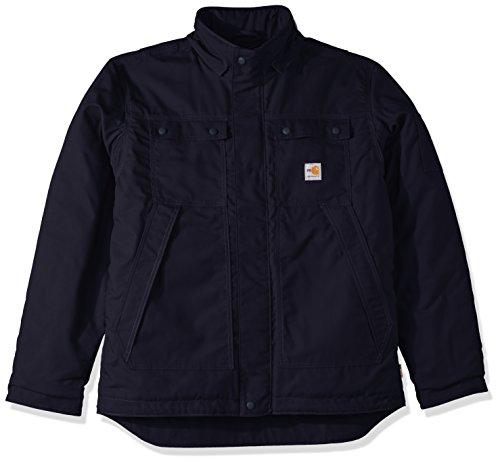 Full Duck - Carhartt Men's Big Flame Resistant Full Swing Quick Duck Coat, Dark Navy, Large/Tall