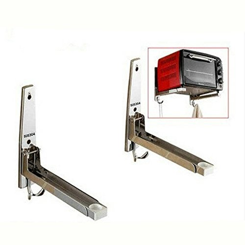 microwave shelf bracket - 5