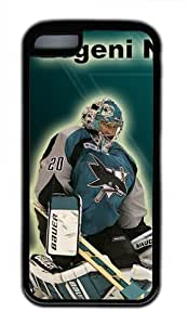 San Jose Sharks Evgeni Nabokov Customizable iphone 5C Case by icasepersonalized