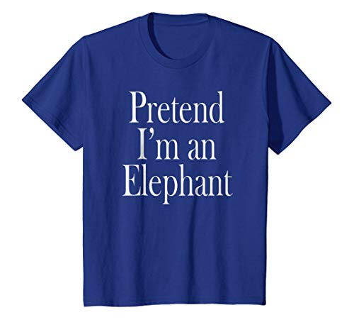 Elephant Costume T-Shirt for the Last Minute Party