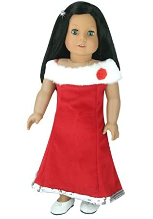 18 Inch Doll Special Occasion Holiday Dress