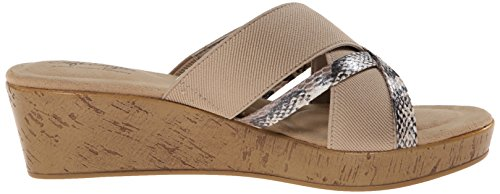 Sandal Pearlized Elastic By Dress Puppies Python Soft Natural Jessie Hush Style HzUwqY