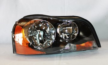 TYC 20-6563-00 Volvo XC-90 Passenger Side Headlight Assembly - Volvo Headlight Lens