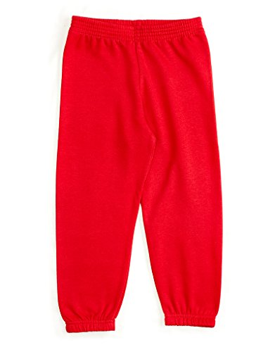 Leveret Boys Sweatpants Red 8 Years Red Sweat