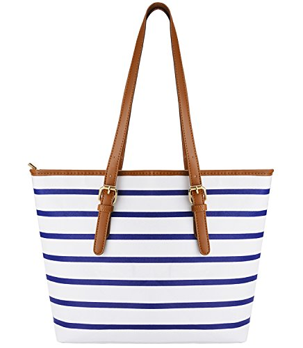 COOFIT Stripes Shoulder Handbag Leather product image