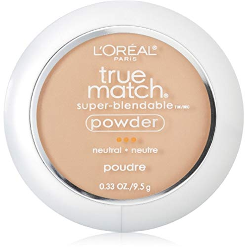 L'Oreal True Match Powder, Buff Beige [N4], 0.33 oz (Pack of 2)