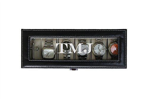 Ten Slot (Engraved Watch Box, Available in 2, 3, 4, 5, 6, 8, or 10 Slot)
