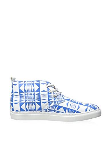 Souly Wong Mens Karim Sneaker Mi-haut, Bleu, 11 M Us