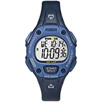 Timex Women's TW5M14100 Ironman Classic 30 Mid-Size Blue Resin Strap Watch
