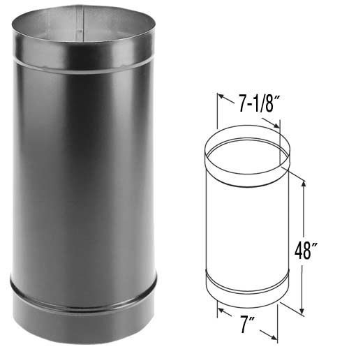 48 black stove pipe - 6