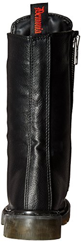 Blk 300 Demonia RIVAL Vegan Leather 7PwUg